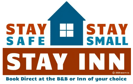 Stay Safe Stay Small Stay Inn logo